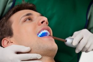 Cosmetic dentistry at work
